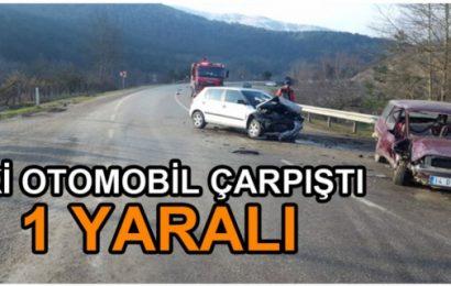 Taşkesti'de Trafik Kazası 1 Yaralı