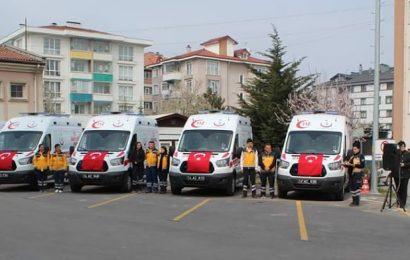Taşkesti'ye 4×4 Ambulans