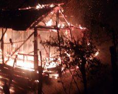 Ilıca köyünde yangın