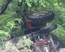 Elmacık İgneciler Traktör Kazası 1 Ölü 1 Yaralı